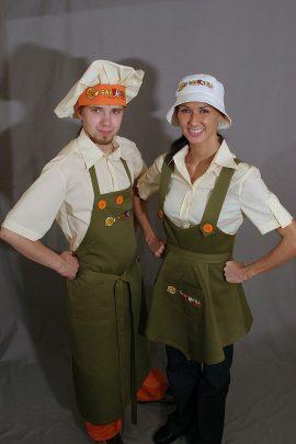 фартуки-Ресторан «Блинница»