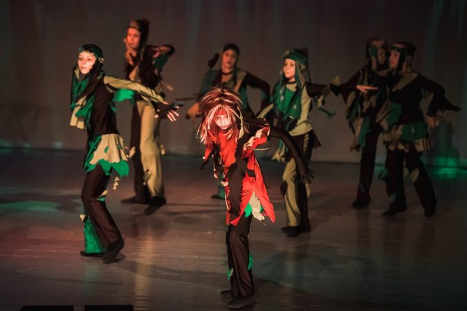 KASTALAN - Dance Express - costume - In the forest