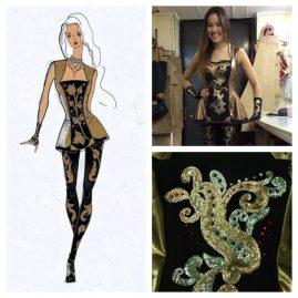 Балет-Николая-Баскова-черно-золотой-костюм
