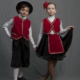 Баварский народный костюм для детей