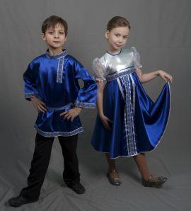 Русско-народный детский костюм