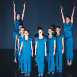 Костюм -ГЕОМЕТРИЯ- «Танцевальный экспресс»