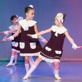 Костюм -ОТ УЛЫБКИ ДО ЖЕСТА- «Танцевальный экспресс»