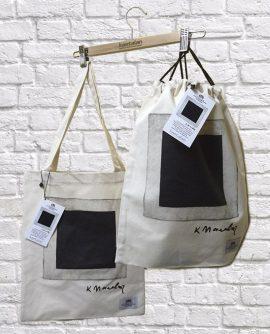 Сумка и рюкзак для коллекции Черный квадрат «Третьяковская галерея»