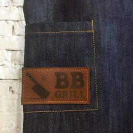 Фартук с кожаными элементами ресторан «BB Grill»