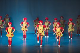 Танцевальный костюм «Ягодки»