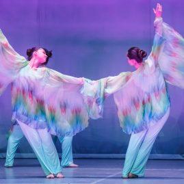 Танцевальный костюм «Цветы и машины»