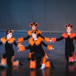 Танцевальный костюм «Королевство кошек»