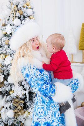 Костюмы Деда Мороза и Снегурочки для «Студии праздников @zvonite_fluffy»