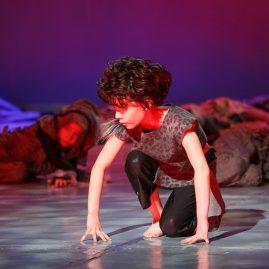 Танцевальный костюм -Волчонок «Танцевальный экспресс»