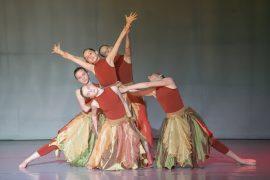 Танцевальный костюм -Осень «Танцевальный экспресс»