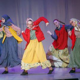 Танцевальный костюм -Старость в радость «Танцевальный экспресс»