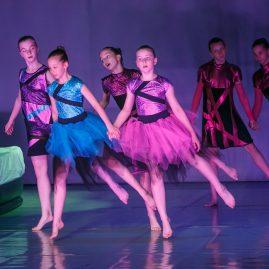 Танцевальный костюм -Сон «Танцевальный экспресс»