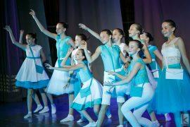 Танцевальный костюм -Следуй за мечтой «Танцевальный экспресс»