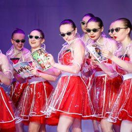 Танцевальный костюм -Глянцевые штучки «Танцевальный экспресс»