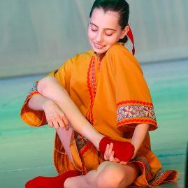 Танец — Пятки горят «Танцевальный экспресс»