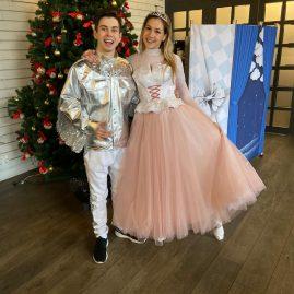 Балерина и Серебряный Дождик — костюм трансформер для аниматоров кафе «АндерСон»
