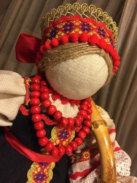 Кукла в русско-народном костюме (масленица)