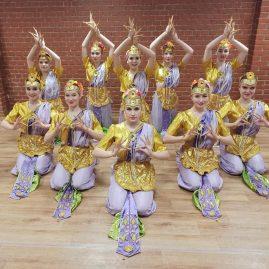 АНТ «Фантазия» — индийский костюм, «Цветы для Дурги»
