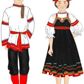 АНТ «Фантазия» — русско-народный костюм Курской Губернии