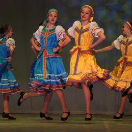 АНТ «Фантазия» — русско-народный костюм, танец «Перепляс»