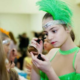 «BROSCO»- разноцветные танцевальные костюмы с бахромой